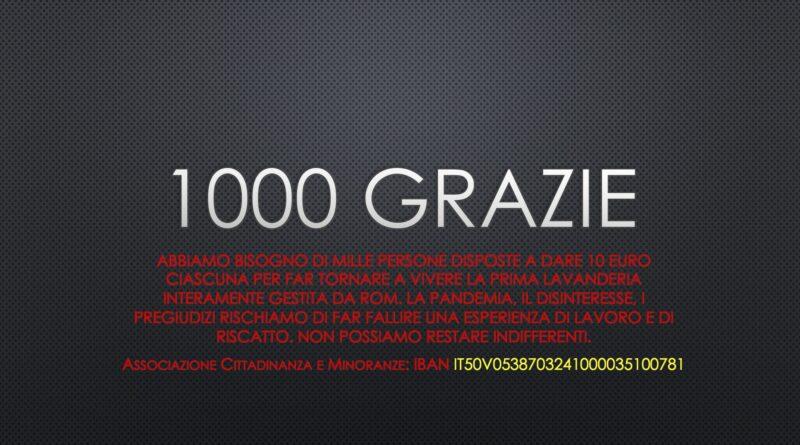 1000 grazie
